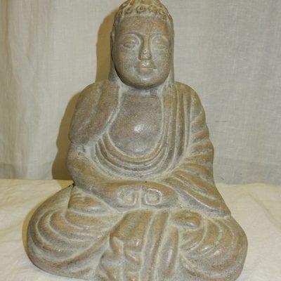 Boeddha monnik gietsteen