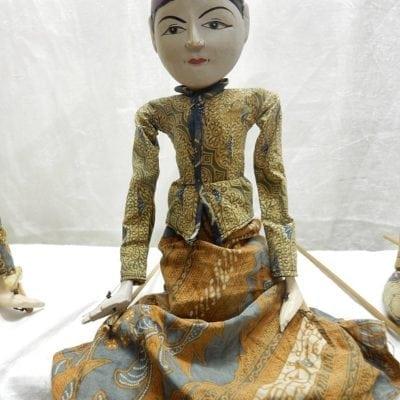 Antieke Wajang pop
