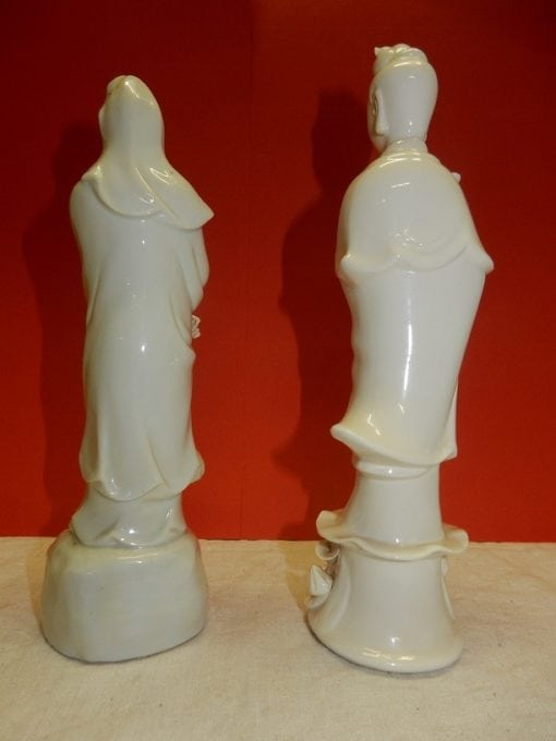 Kwanjin porseleinen beeldjes