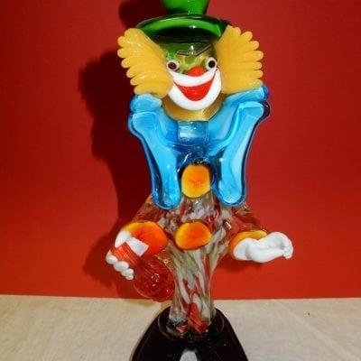Murano glas clown vintage
