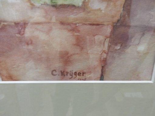 Schilderij C. Krijger