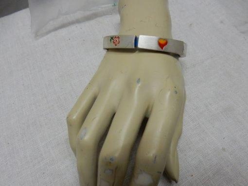 armbandjes gekleurd kralen hangers