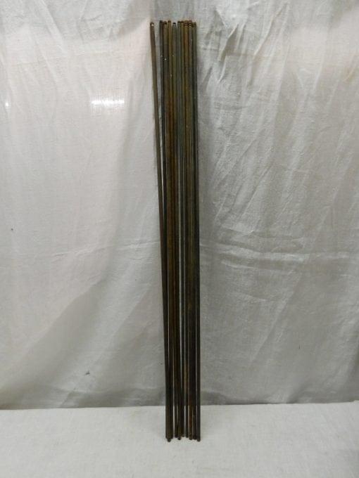 Antieke brocante traproede 76 cm