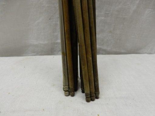 Antieke brocante traproedes 62 cm