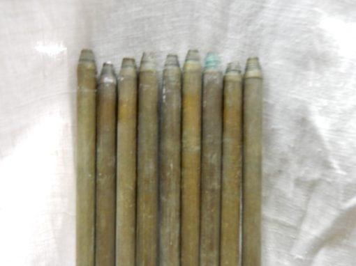 Antieke brocante traproede 82 cm