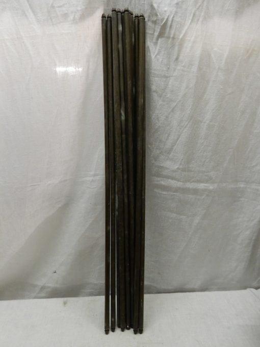 Antieke brocante traproedes 77 cm