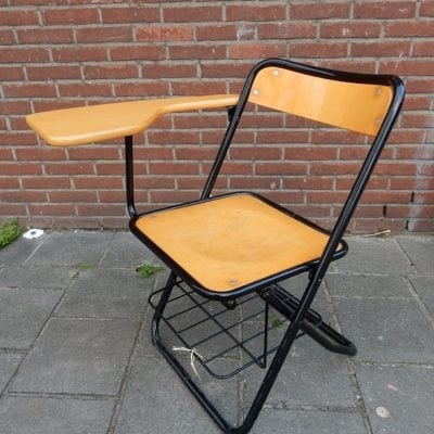 Vintage industrieel stoel