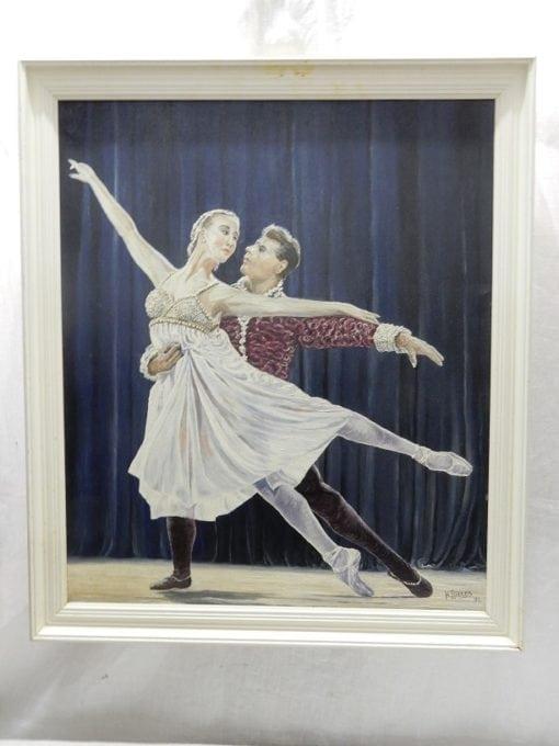 Schilderij Ballet H.Tjittes 1991