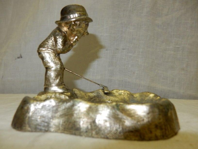 Vintage Silverstone Golf asbak