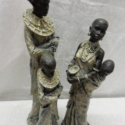 Afrikaanse beeld vrouw met kind