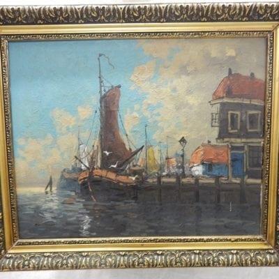Schilderij Botter Enhuizen Hoorn