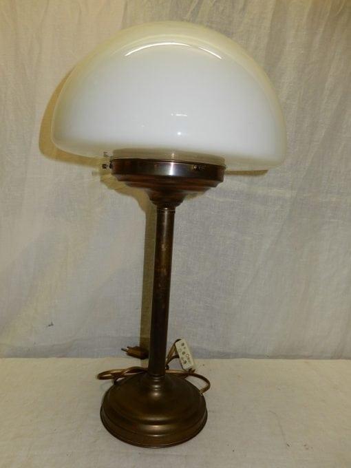 Vintage art deco mushroom lamp