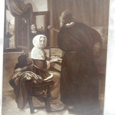 Antieke brocante foto's prenten begin 20e eeuw