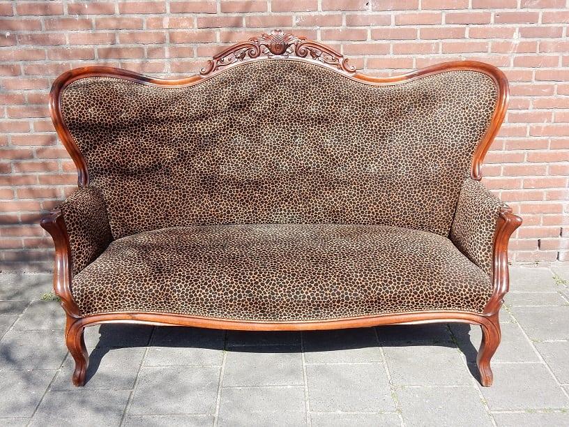 Barok sofa bank