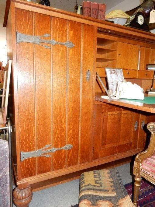 Antieke kast bureau