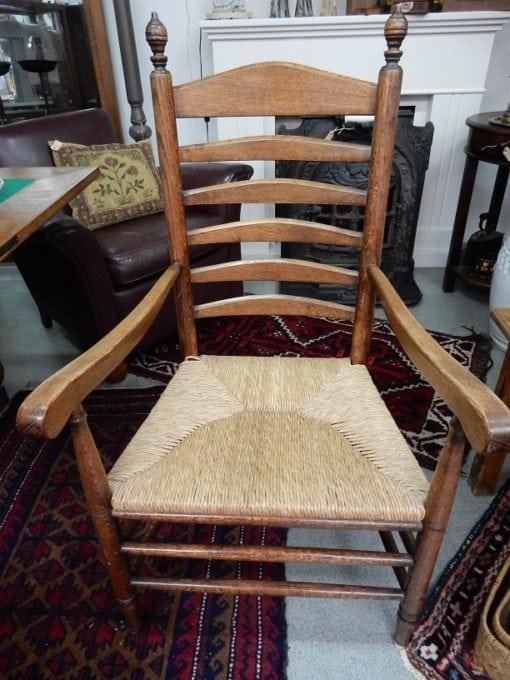 antieke boeren stoel