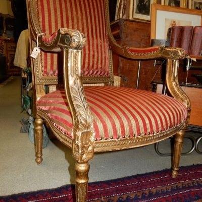 Barok fauteuil