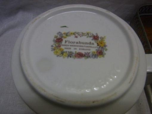Wedgwood Doverstone Florabunda servies