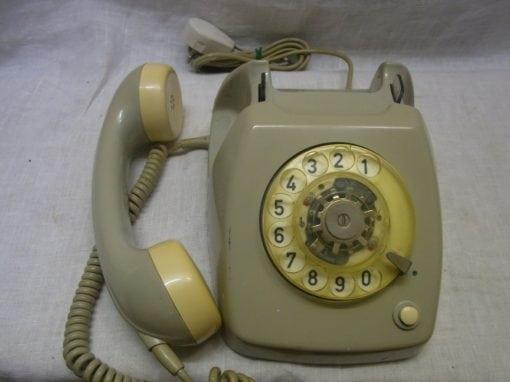 Retro telefoon grijs