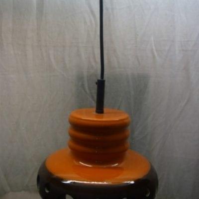vintage retro hanglamp keramiek