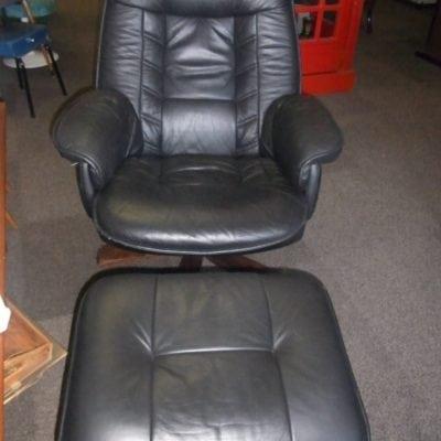 Relax fauteuil met voetenbank