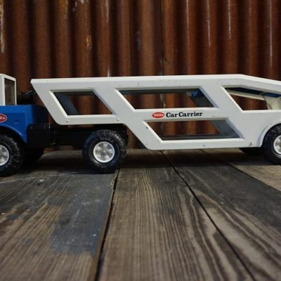 Tonka Mighty truck car carrier
