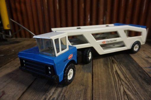 Tonka Mighty truck car carrier